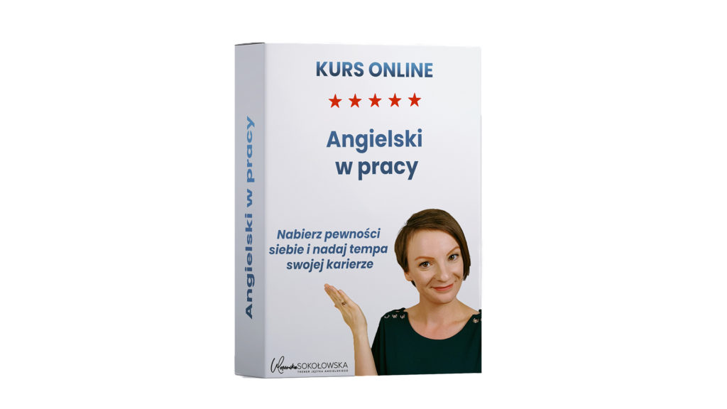 angielski w pracy kurs online